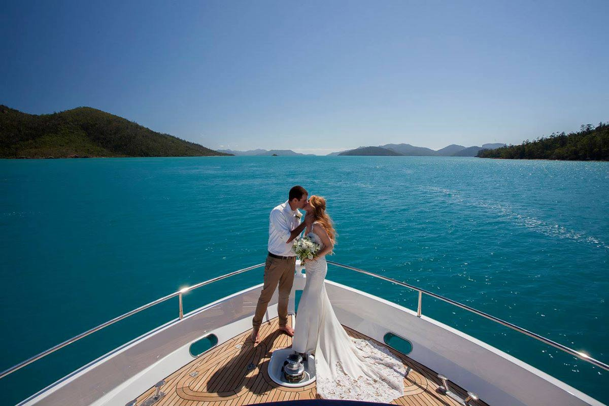 White Boat Weddings in the Whitsundays