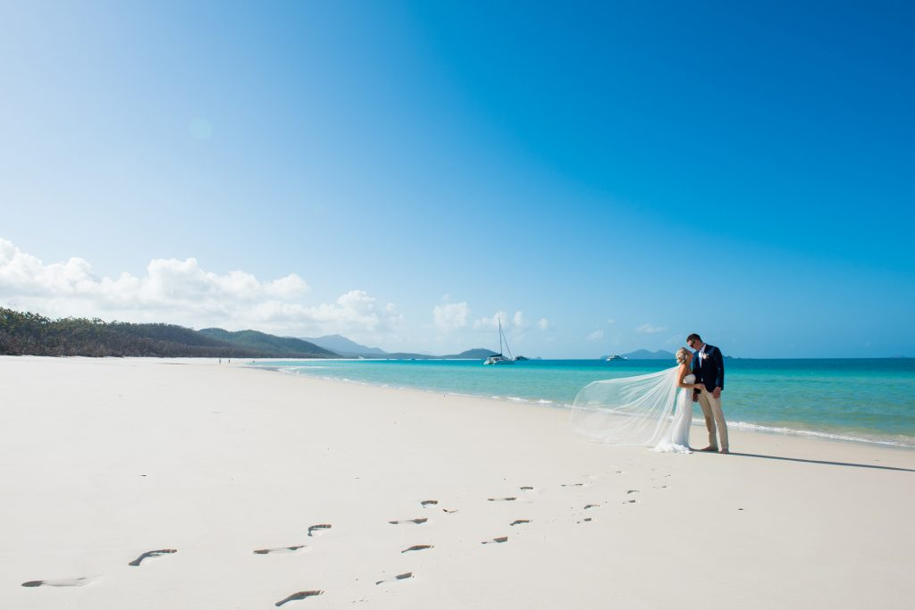 Weddings Whitsundays Whitehaven Beach Wedding