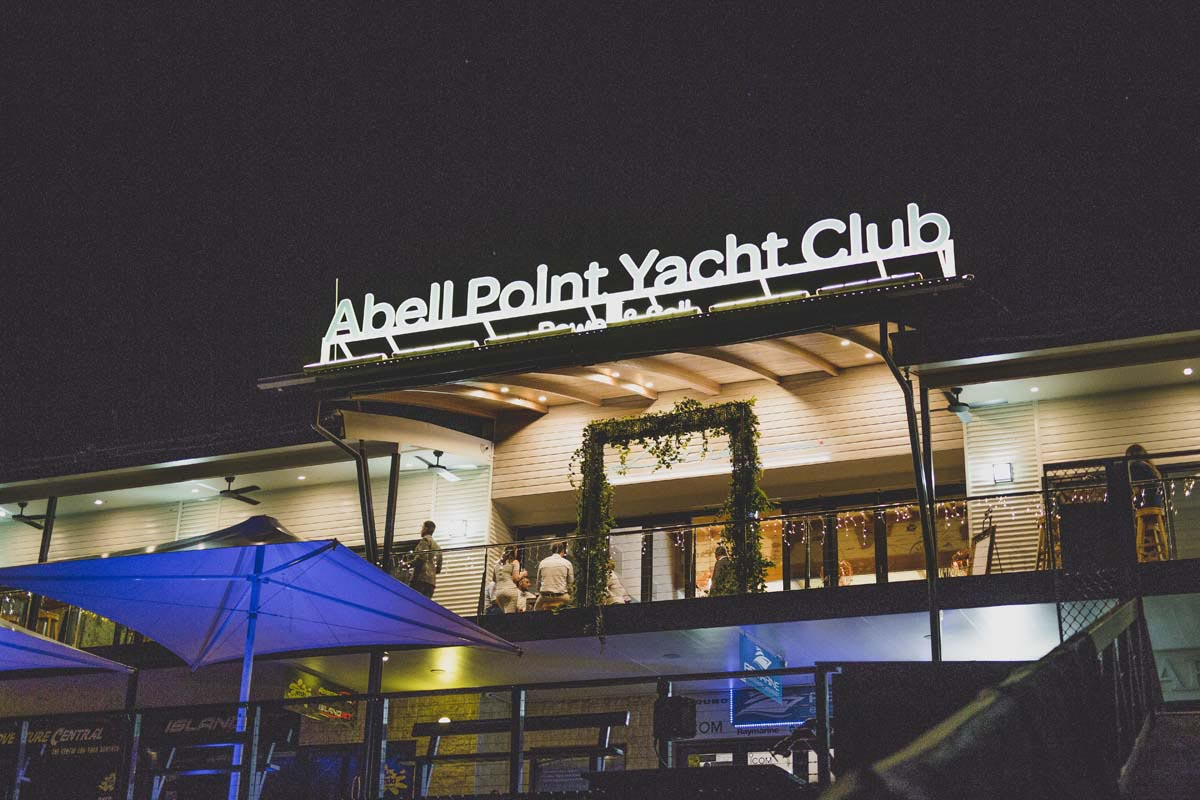 Yacht Club Weddings in Marina