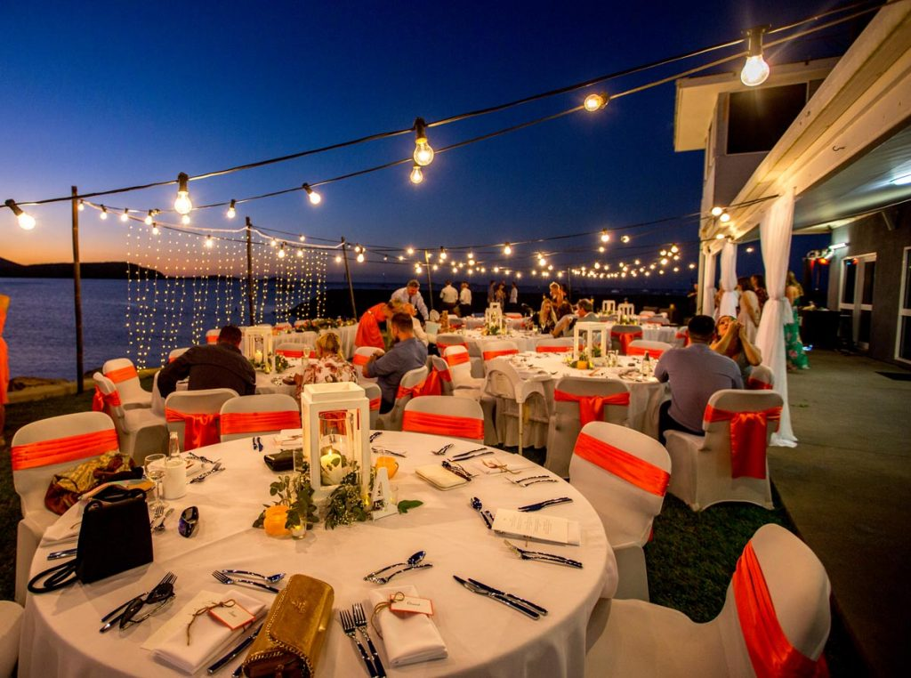 Outdoor reception venues in the Whitsundays