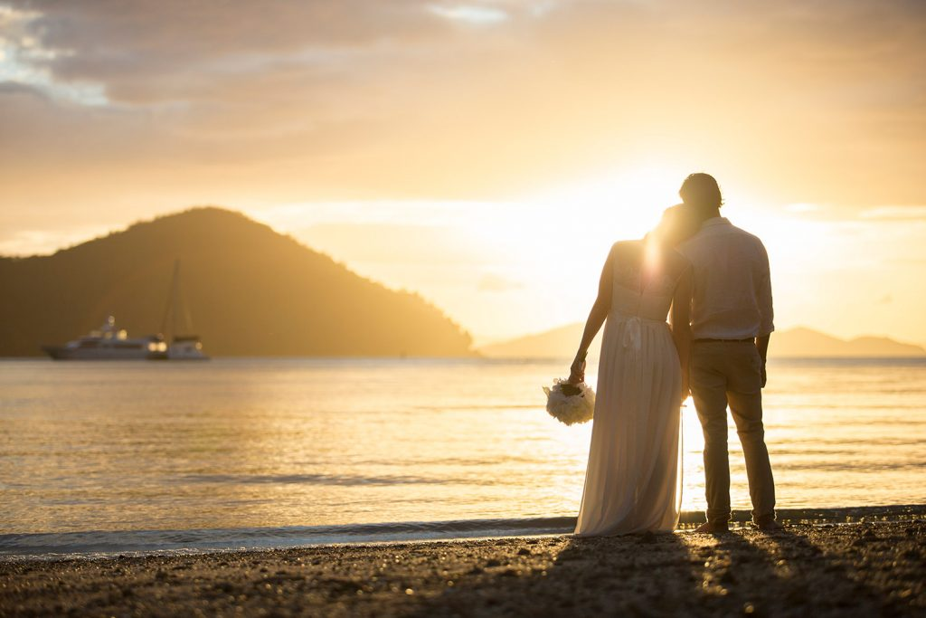 Winter Wedding Sunsets